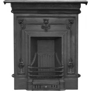 The Winchester Art Nouveau Cast Iron Combination Fireplace